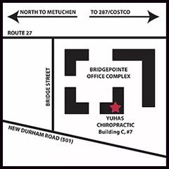 Chiropractic Metuchen NJ Yuhas Chiropractic Health Center Location